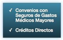 En Clínica Visual del Centro contamos con Convenios con Seguros de Gastos médicos Mayores y Créditos Internos